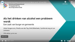 Terugkijken: Webinar 'Als drinken een probleem wordt: een zaak van burger en gemeente'